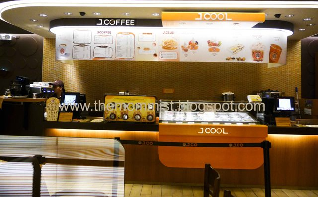 J.Co Donuts coffee counter