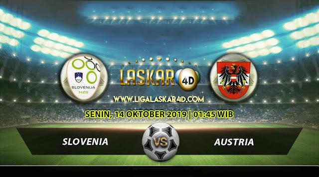 Prediksi Pertandingan Bola Slovenia vs Austria 14 Oktober 2019