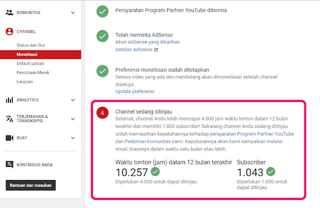 channel punya 4000 jam tayang