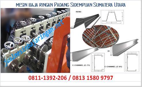 mesin baja ringan Padang Sidempuan Sumatera Utara