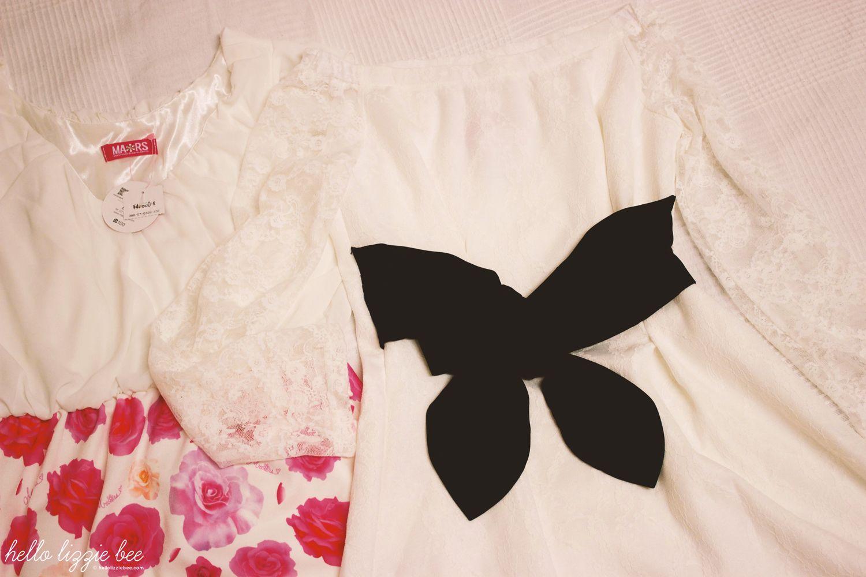 Princess Melody and MA*RS dresses