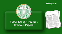 TSPSC Group 1 Prelims Previous Papers