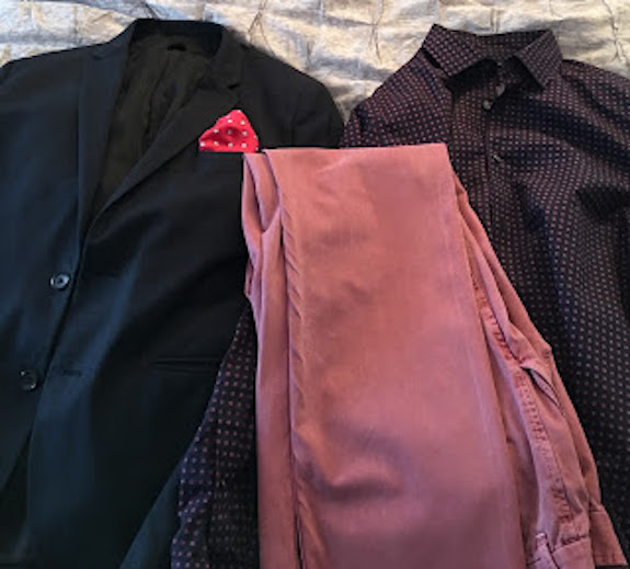 menswear, work attire, pocket square