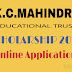 KC Mahindra All India Talent Scholarships 2016 for Diploma Students, Application Process and Eligibility Criteria.