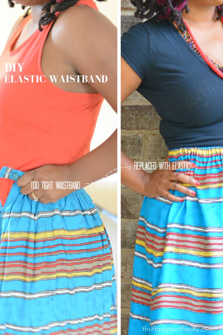 diy elastic waistband