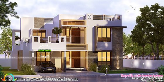 5 bhk, 2823 sq-ft box type home