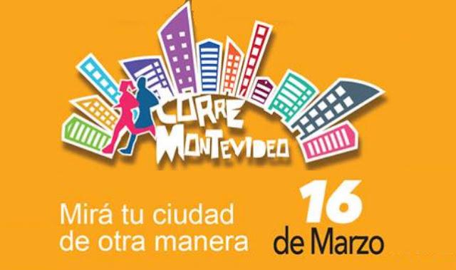 21k 10k 5k Medio maratón Corré Montevideo (Kibón, 16/mar/2019)