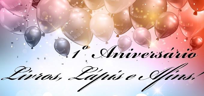 Sorteio: Aniversário do blog Livros, Lápis e Afins