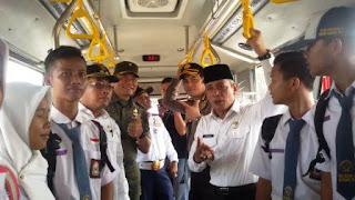 Ongkos Palembang - Kayuagung kini Cuma Rp10 ribu