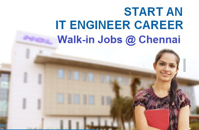 """HCL"" Tech Ltd Announced walk-in for Customer Service Representative @Chennai"