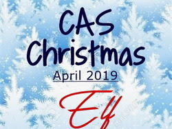CAS Christmas - Elf Reminder