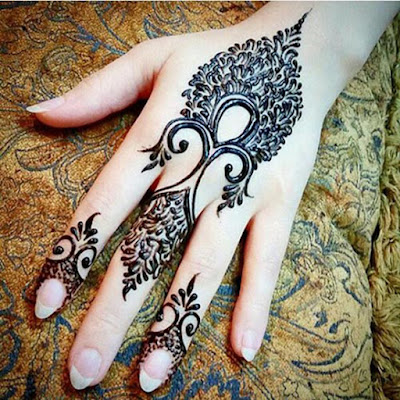 beautiful-feather-Henna-mehendi-designs-piche-hand-ka
