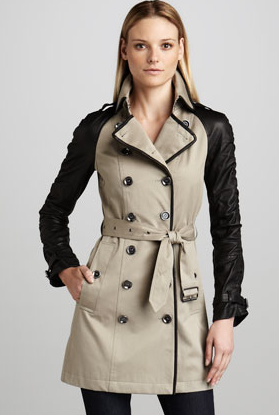 rich and magnificent search for best 100% authenticated order mackage trench coat leather sleeves prices 3c3a6 b9903