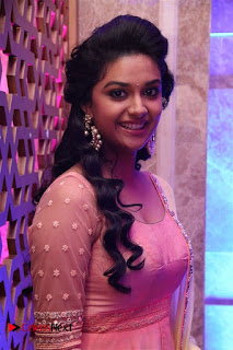 Keerthy Suresh Pictures in Salwar Kameez at Remo First Look and le Track Launch (Updated) ~ Celebs Next