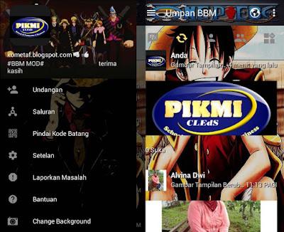 BBM D'Luffy Monkey APK v3.1.0.13 Mod Unlock Hack Money
