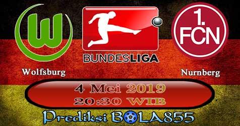 Prediksi Bola855 Wolfsburg vs Nurnberg 4 Mei 2019