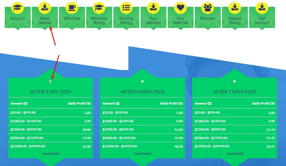 Регистрация в GreenForex 3