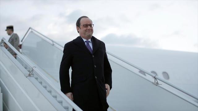 "Hollande viaja a Irak para ""prevenir actos terroristas"" en Francia"