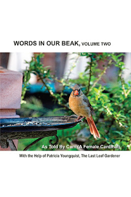 "This image features volume two of my book series, ""Words In our Beak.""  Info re the books is in another blog post @"
