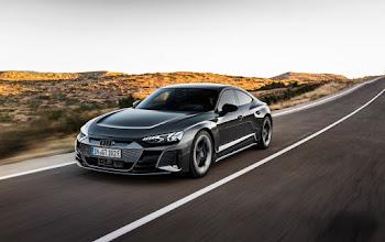 Audi ra mắt xe thể thao chạy điện mới Audi e-tron GT và nó thực sự ấn tượng
