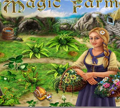 تحميل لعبة المزرعة السحرية Magic Farm للاطفال والبنات