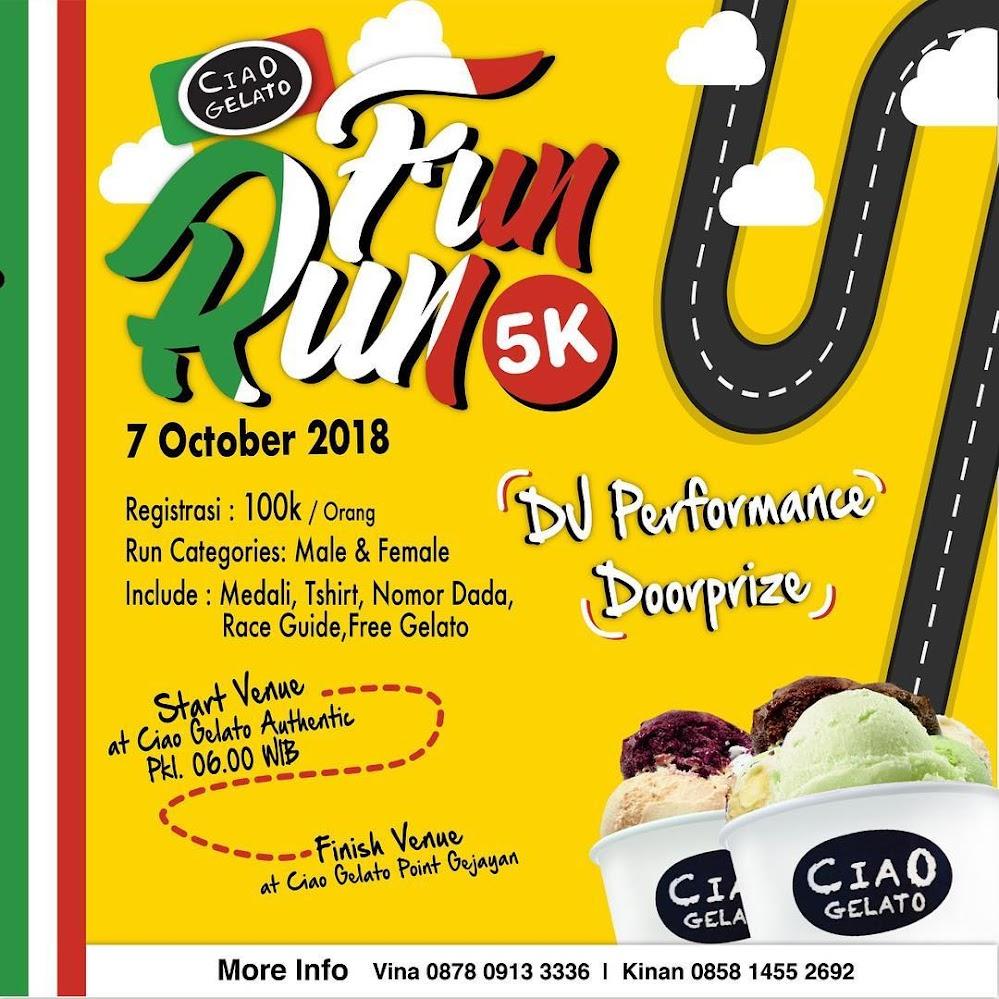 Ciao Gelato Fun Run • 2018
