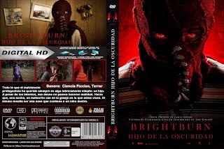 CARATULA BRIGHTBURN HIJO DE LA OSCURIDAD - 2019 [COVER DVD]