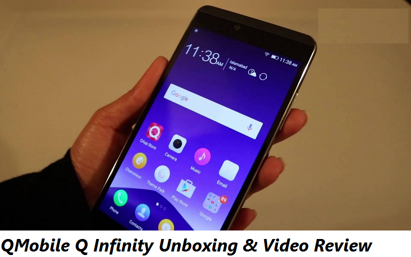 QMobile Q Infinity Unboxing & Video Review