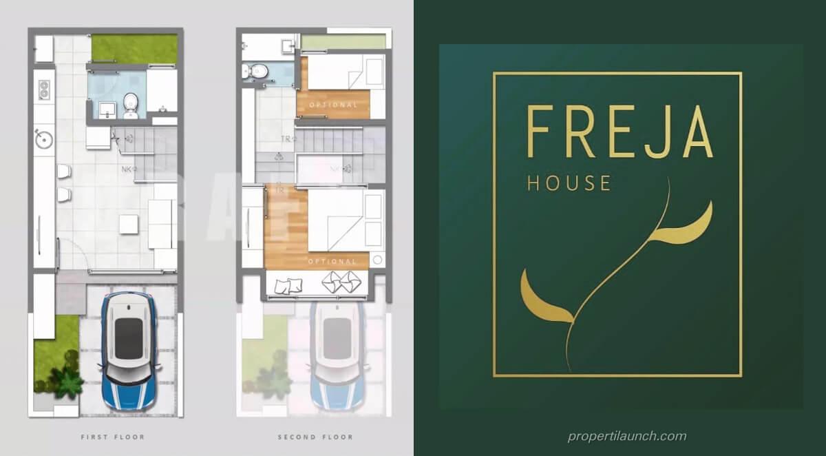 Denah Rumah Freja House BSD