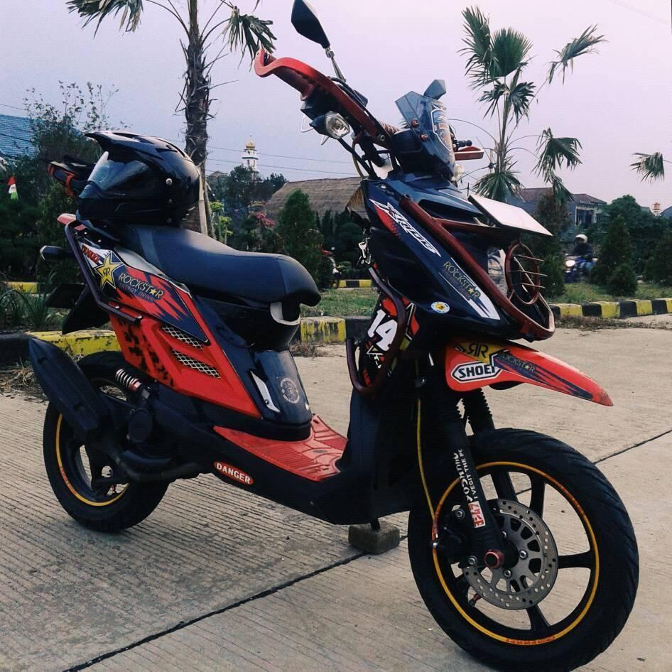 77 Gambar Modifikasi Motor X Ride Terunik Kakashi Modifikasi