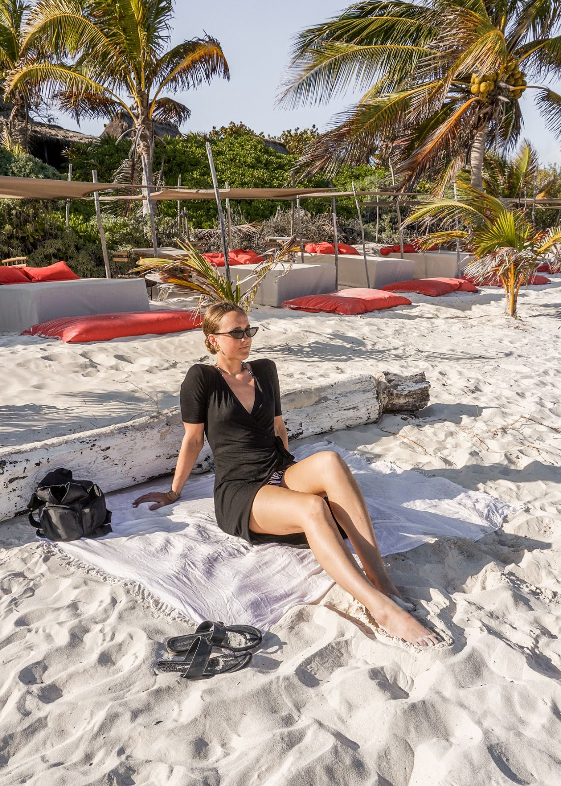 Mexico - Tulum - In My Dreams - Beach babe Life - Outfit - Fashion blogger