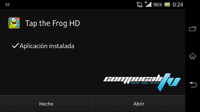 Tap the Frog HD Android APK Español