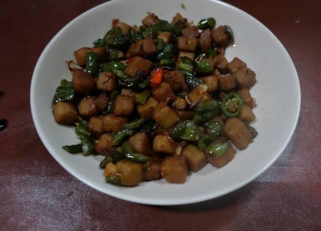 Resep tempe gembus lombok ala rumah makan ciwidey