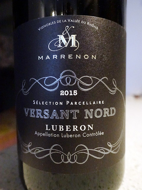 Marrenon Versant Nord Luberon 2015 (88+ pts)