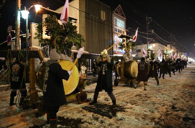 Tori-oi Festival at Isegu Shrine, Azuma, Gunma Pref.
