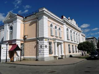 Житомир. Ул. Лятошинского. Управление НБУ в Житомирской области