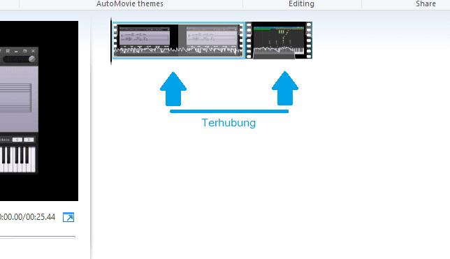 2 Video telah tergabung