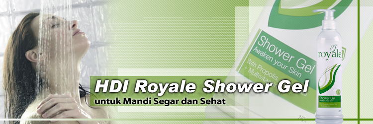 royale shower gel
