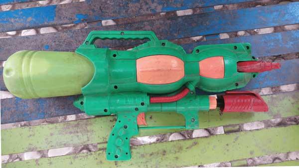Biohazard X Fluid Weapon - Turnable nandur93 References