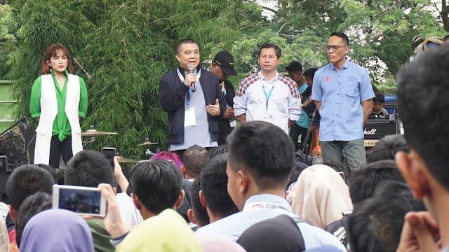 Erwin Aksa: Nanti di TPS Tangan Kiri Tutup Nomor 1, Tangan Kanan Tusuk Nomor 2