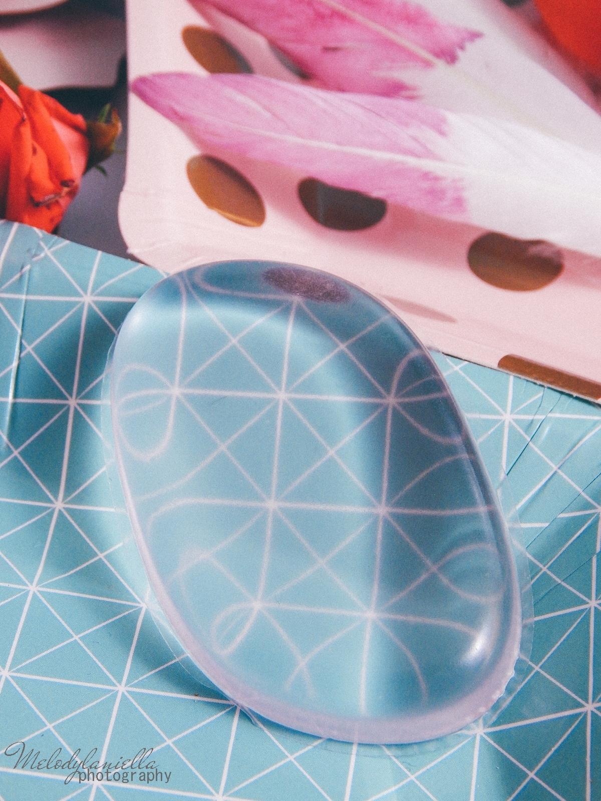 5 clavier gąbka do makijażu blending sponge szczoteczka do aplikacji cieni bazy korektora rozświetlacza bronzera silikonowa gąbeczka do makijażu czym się malować akcesoria kosmetyczne pędzle do makijażu gąbki