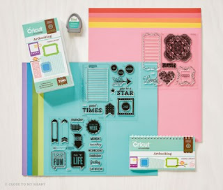 Cricut® Artbooking Collection (physical cartridge)