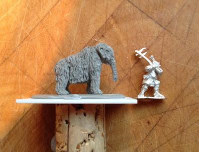 Test Mammoth Miniature