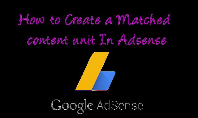 Cara Membuat unit konten yang Cocok Dalam Adsense