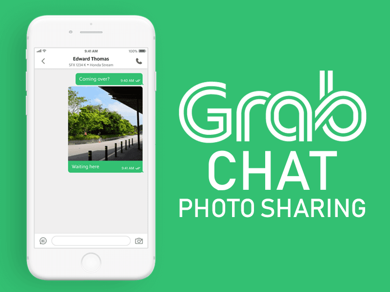 Grab introduces GrabChat photo sharing to battle ride cancellations