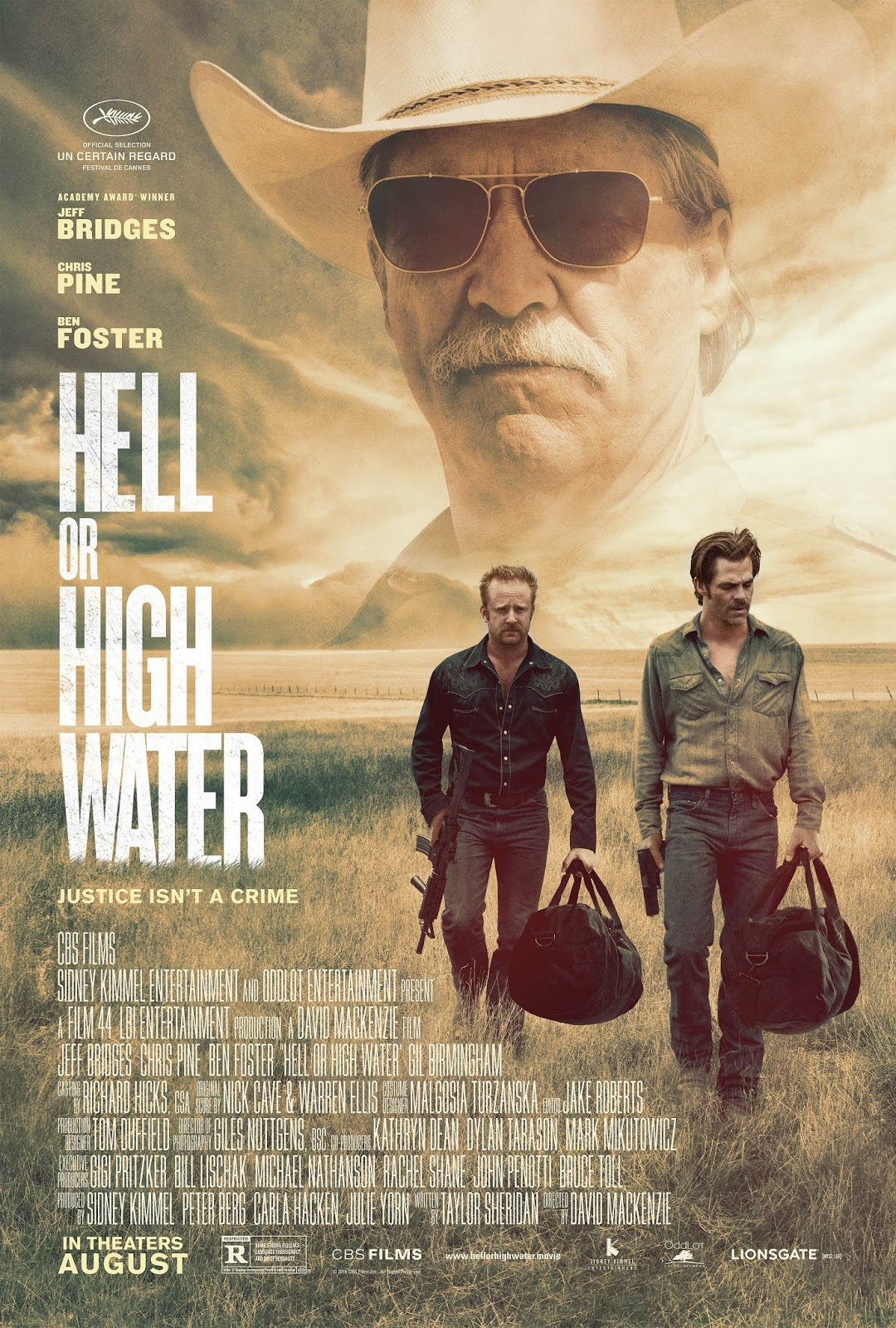 Hell or High Water presents a great character study