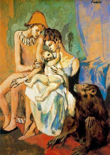 el periodo rosa de Picasso obras