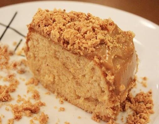 bolo de paçoca