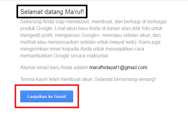 Membuat Account Gmail