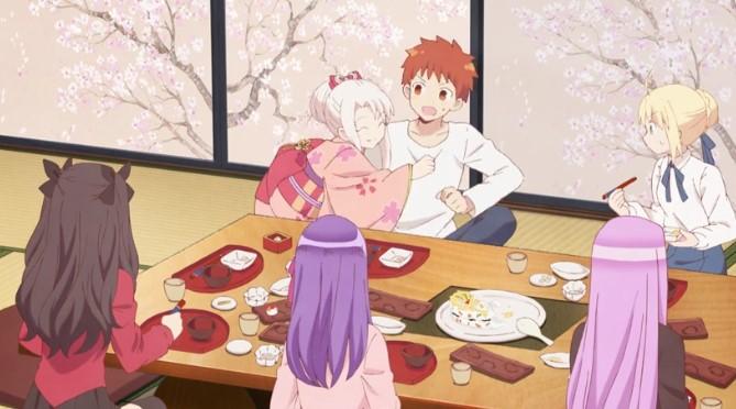 Emiya-san Chi no Kyou no Gohan – Episódio 03